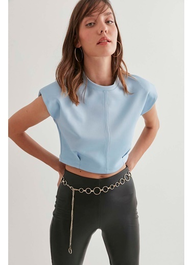 Vitrin Bluz Mavi